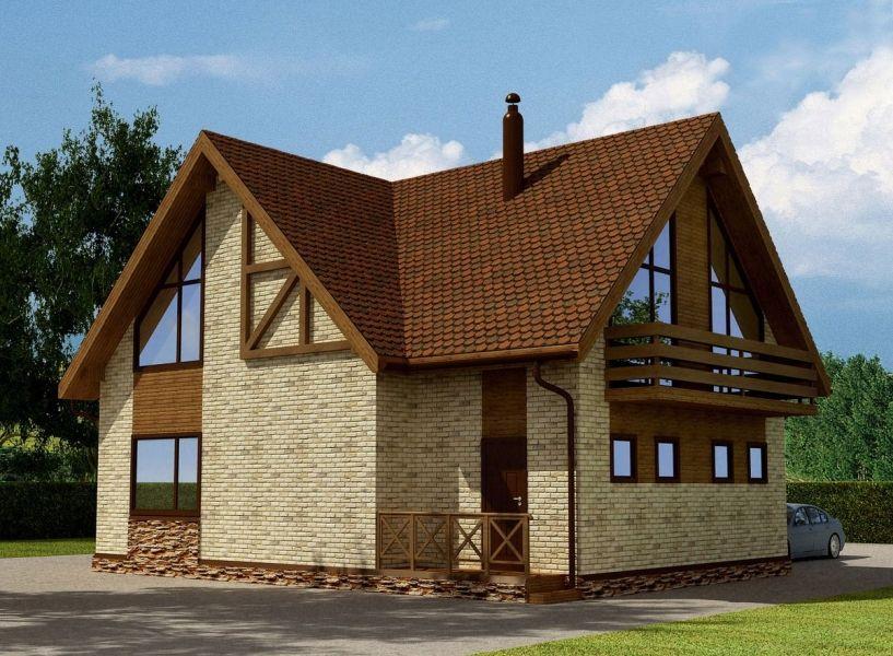 Выбор конфигурации дома и возведение дома из ракушняка