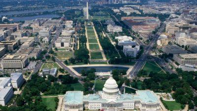 Вашингтон с высоты