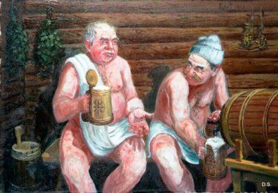 банька русская баня -сауна Жарко-Банюшка