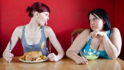 бороться с перееданием