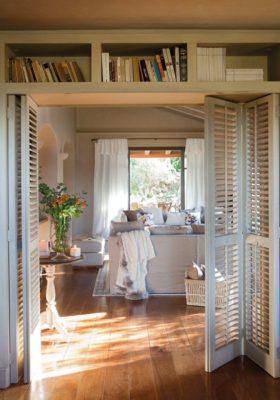 Раздвижные межкомнатные двери-книжки