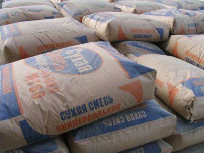 сухие строительные цементные смеси