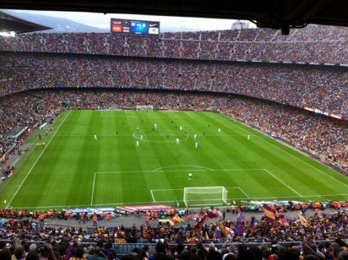 Испания. Стадион Камп Ноу