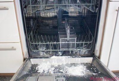 Рекомендации по чистке посудомоечных машин